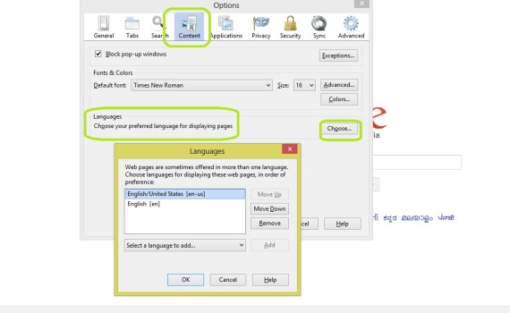 how to change the default language in windows 7