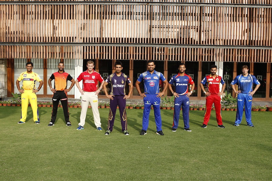 Indian Premier League Season 8 (IPL 2015) Match Schedule