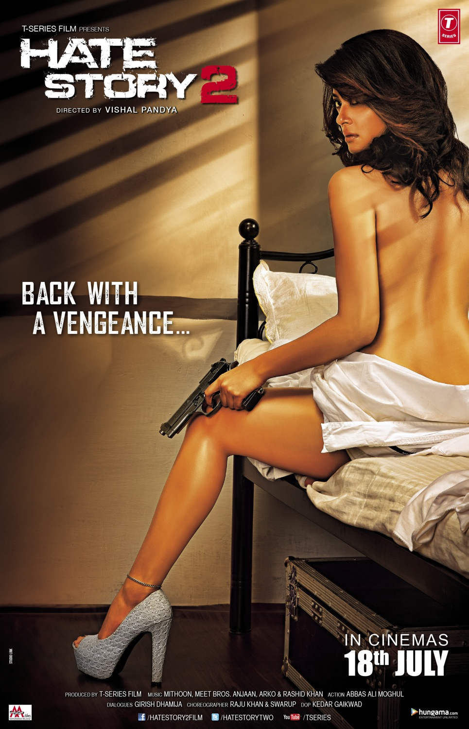 Hate Story 2 (2014) Posters Surveen Chawla