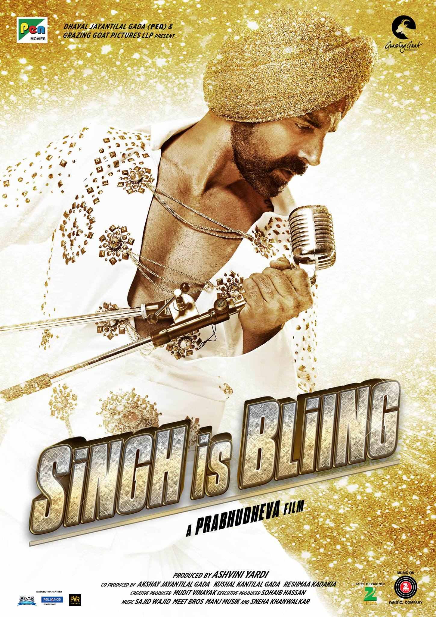 Singh Is Bling Movie Poster Akshay Kumar