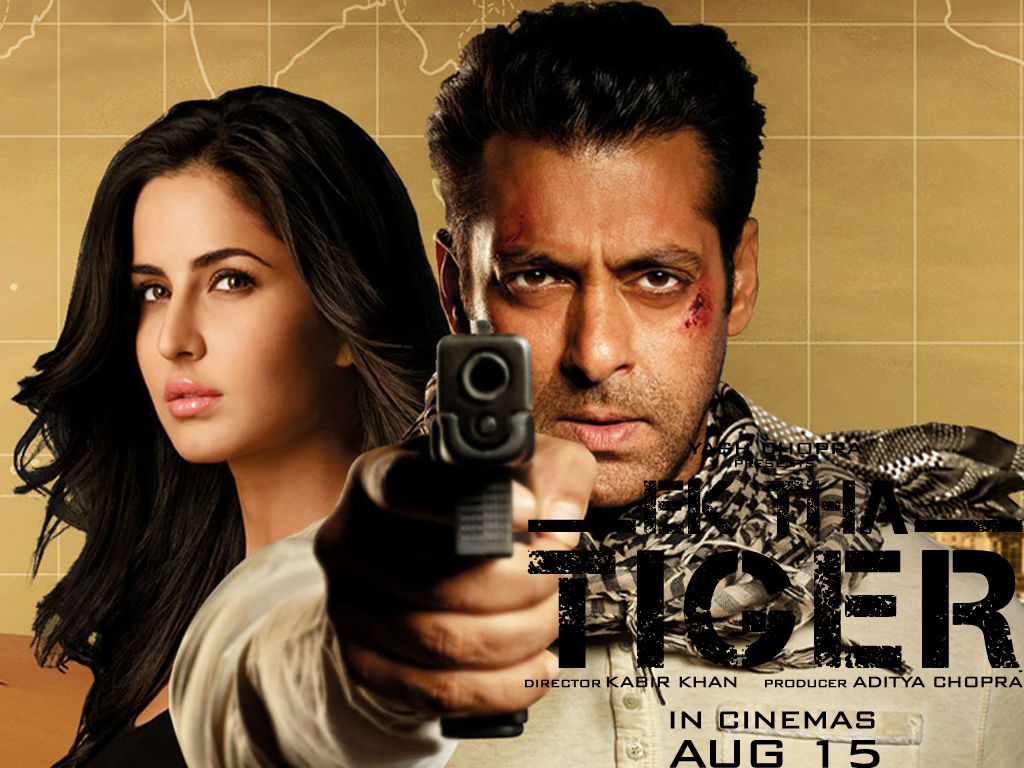 Ek Tha Tiger Movie Poster Salman Khan And Katrina Kaif