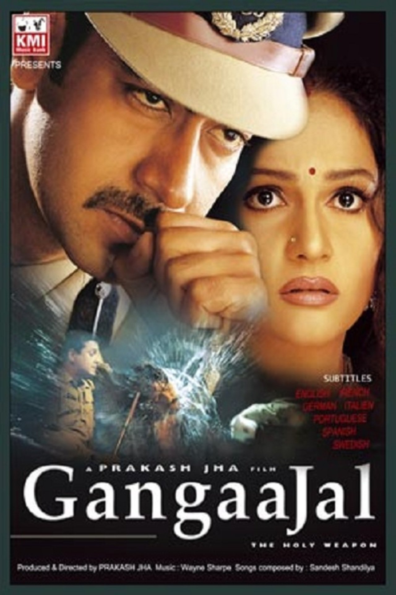 Gangaajal Movie Poster Ajay Devgan And Gracy Singh