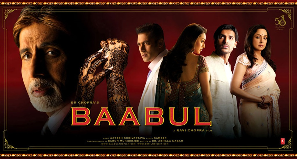 Baabul Movie Poster - Full HD Wallpaper
