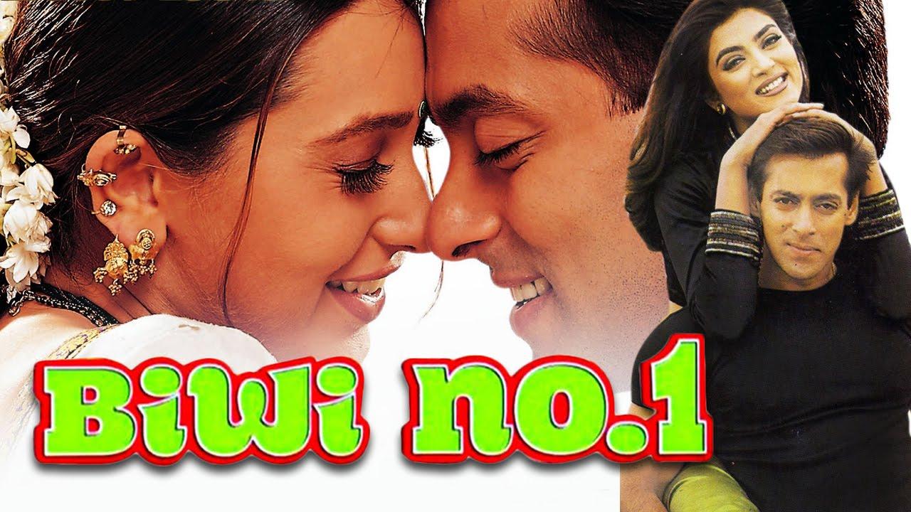 Biwi No 1 Movie Poster Salman Khan Karisma Kapoor Sushmita Sen