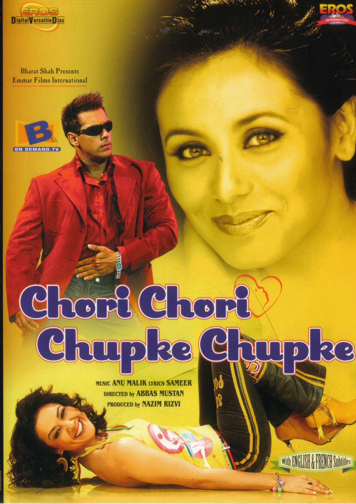 Chori Chori Chupke Chupke Movie Poster Salman Khan Rani Mukerji Preity Zinta