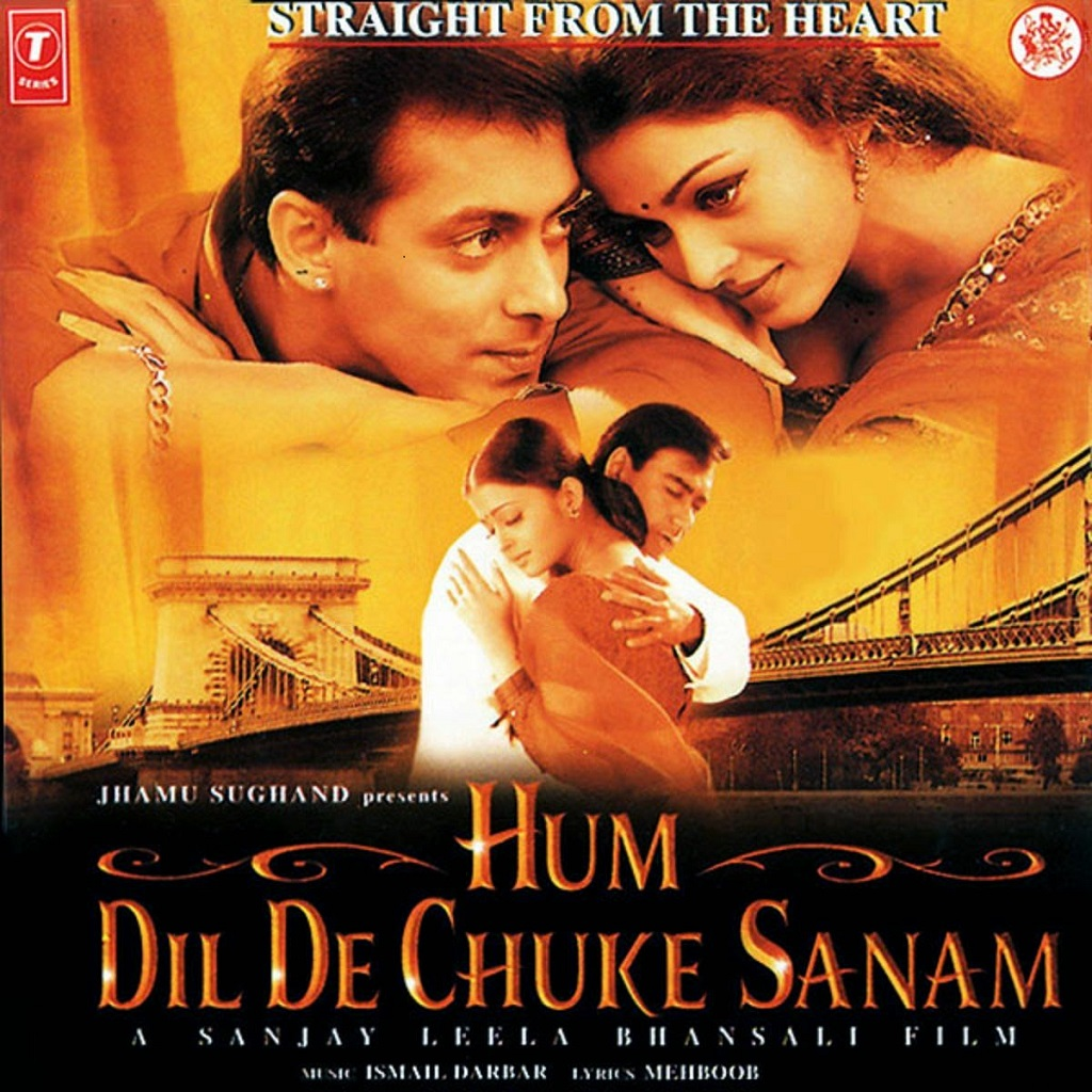 Hum Dil de Chuke Sanam Movie Poster - Salman Khan, Ajay Devgan And Aishwarya Rai