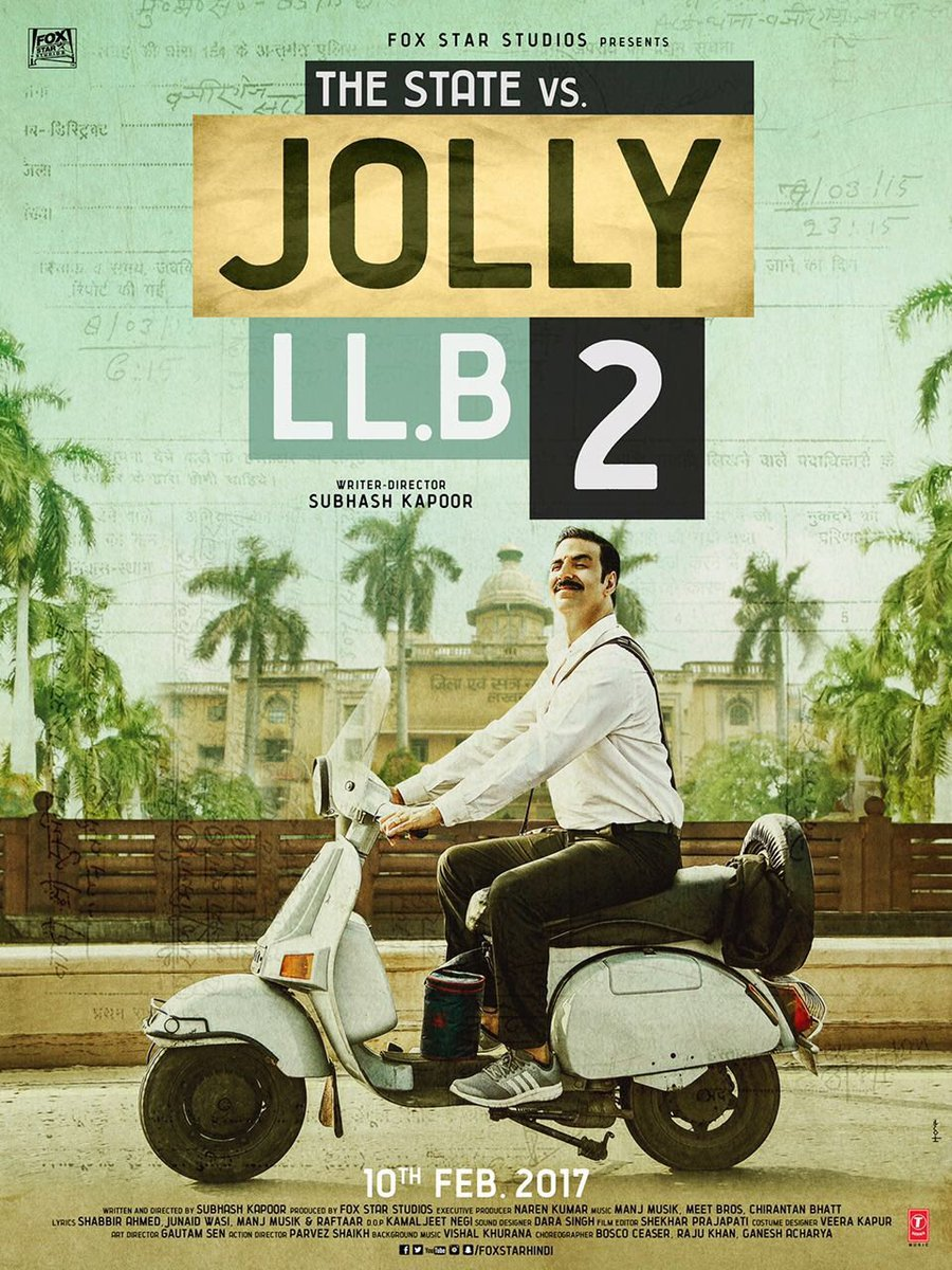 Jolly LLB 2 Movie Poster - Akshay Kumar - Full HD Wallpaper