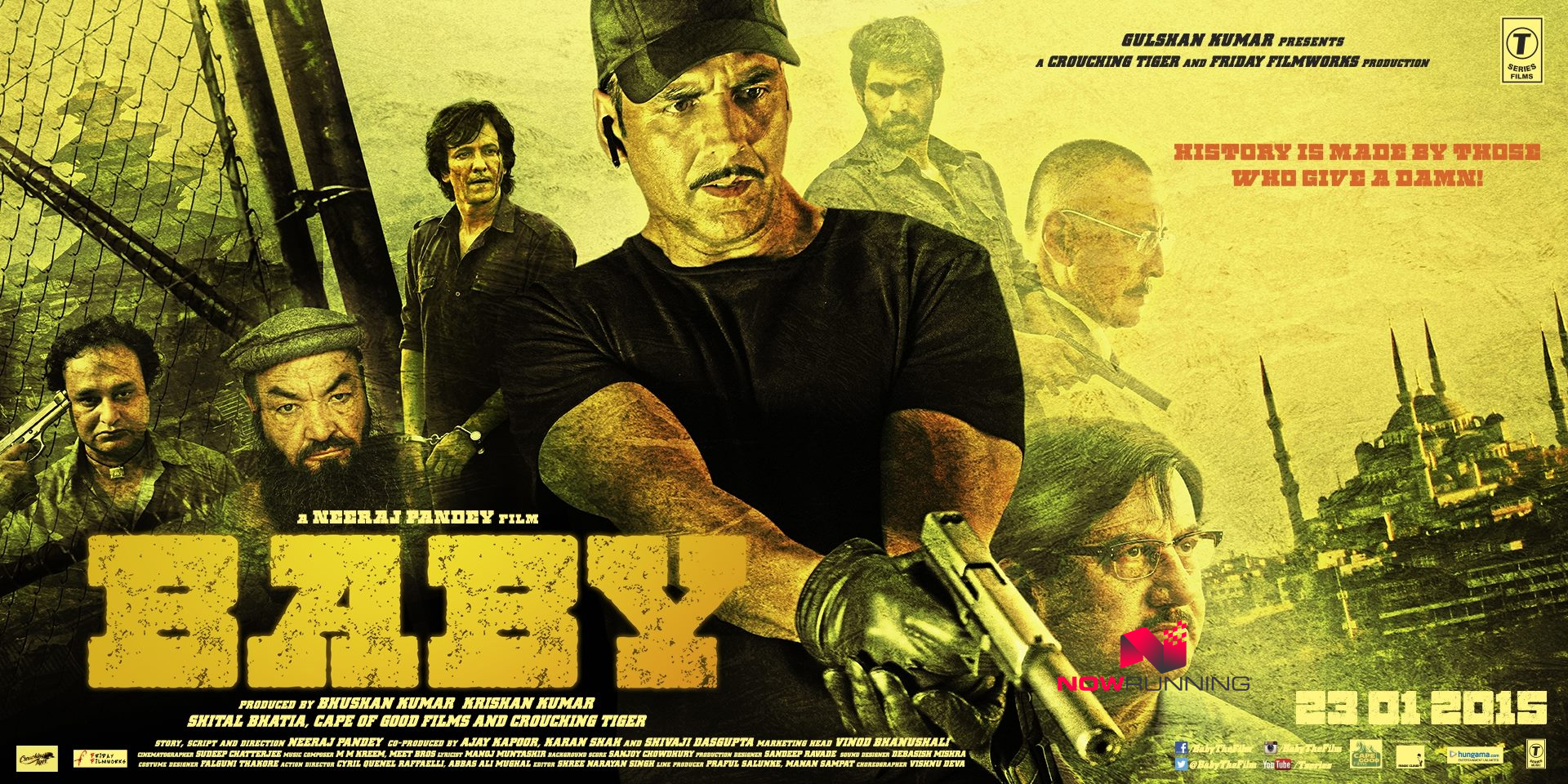 Baby Movie Poster HD Akshay Kumar
