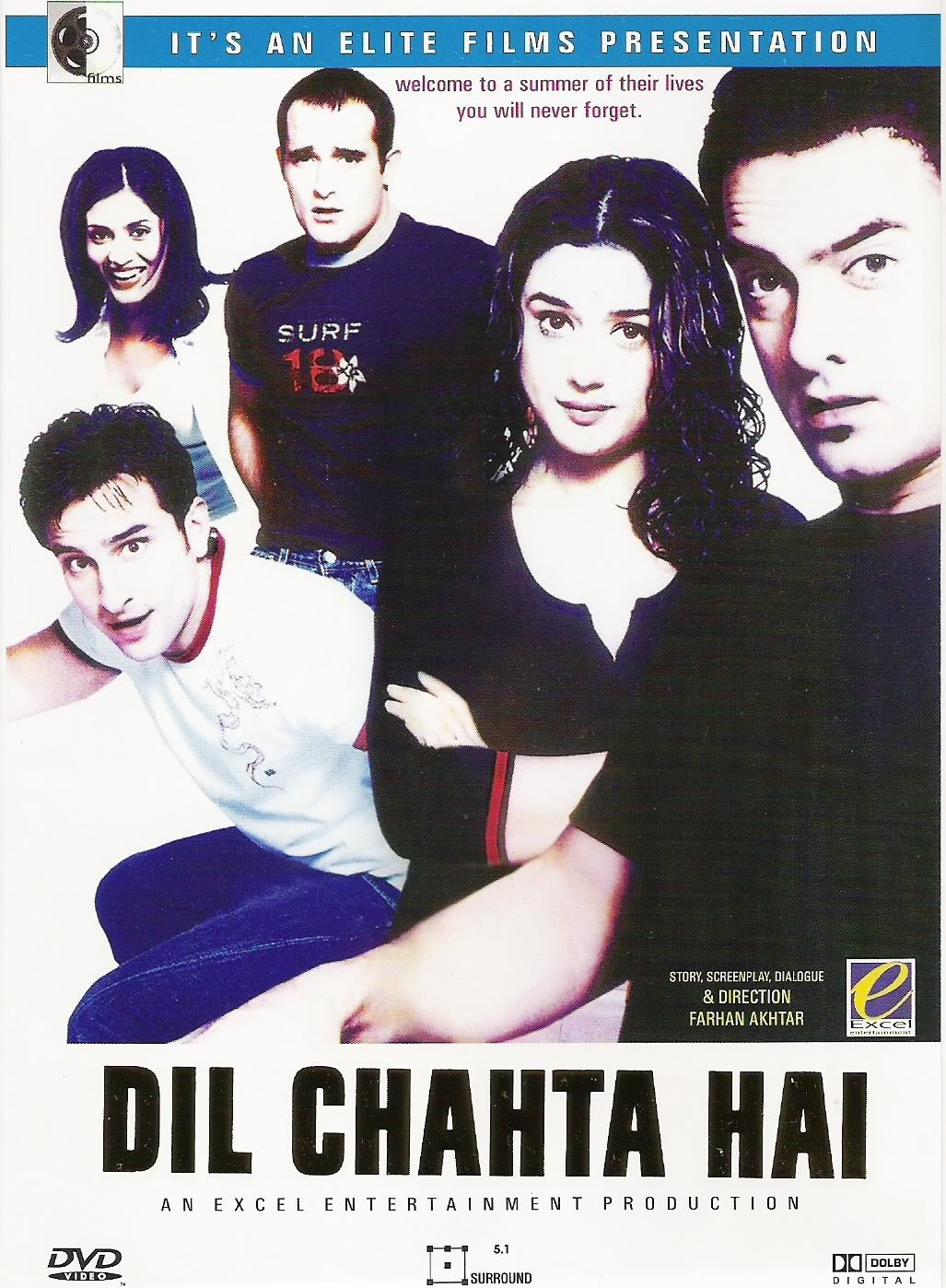 Dil Chahta Hai Movie Poster Aamir Khan