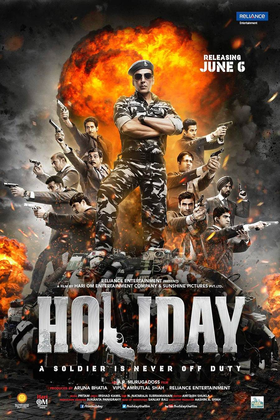 Holiday Movie Poster HD Akshay Kumar