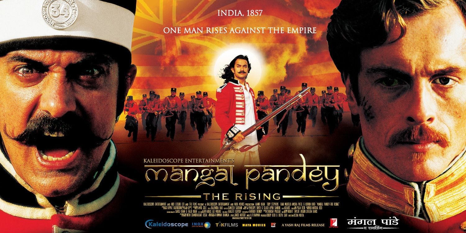 Mangal Pandey The Rising Movie Poster Aamir Khan Full HD Desktop Wallpaper