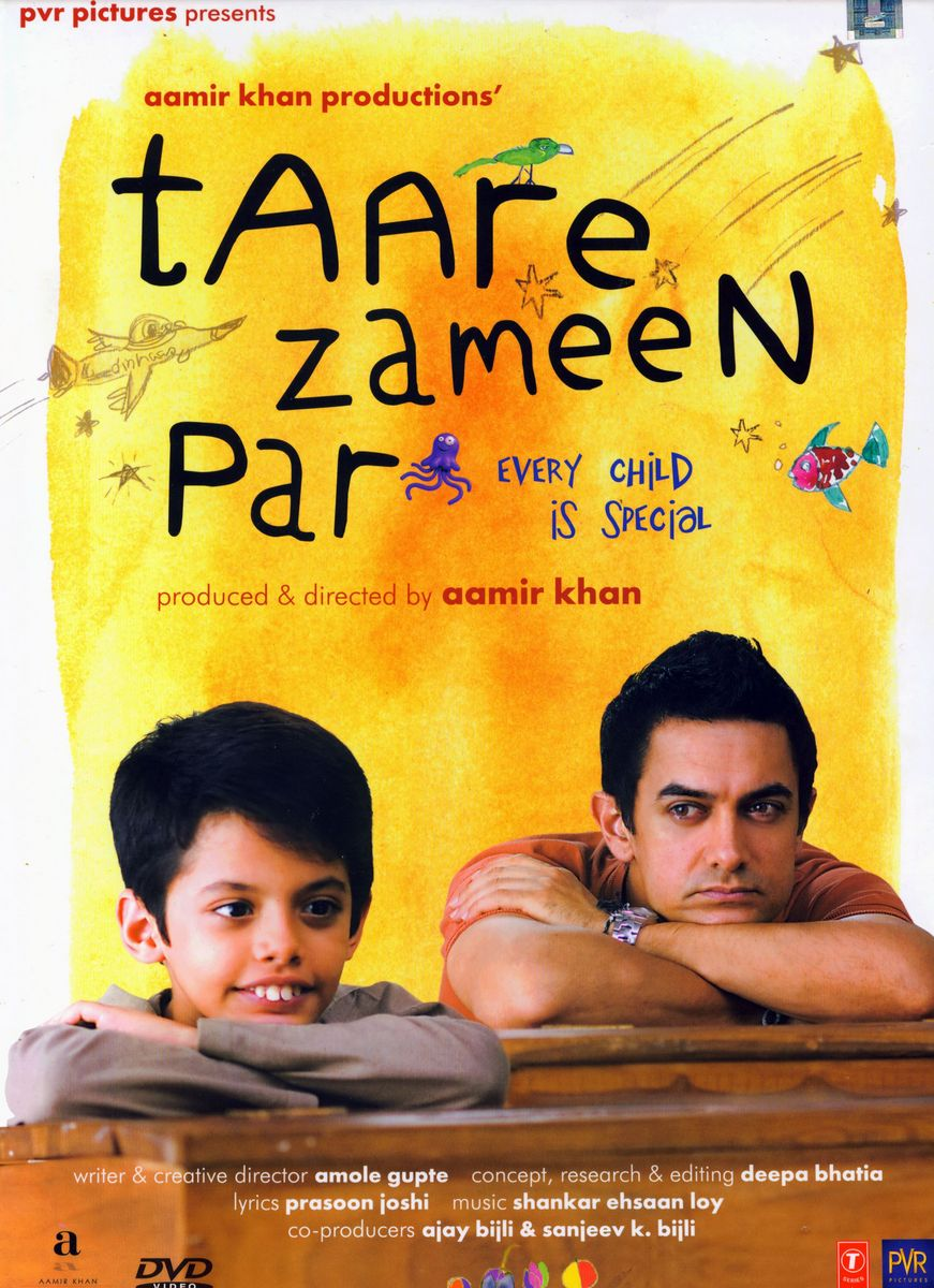 Taare Zameen Par Movie Poster - Aamir Khan, Darsheel Safary - Full HD Desktop Wallpaper