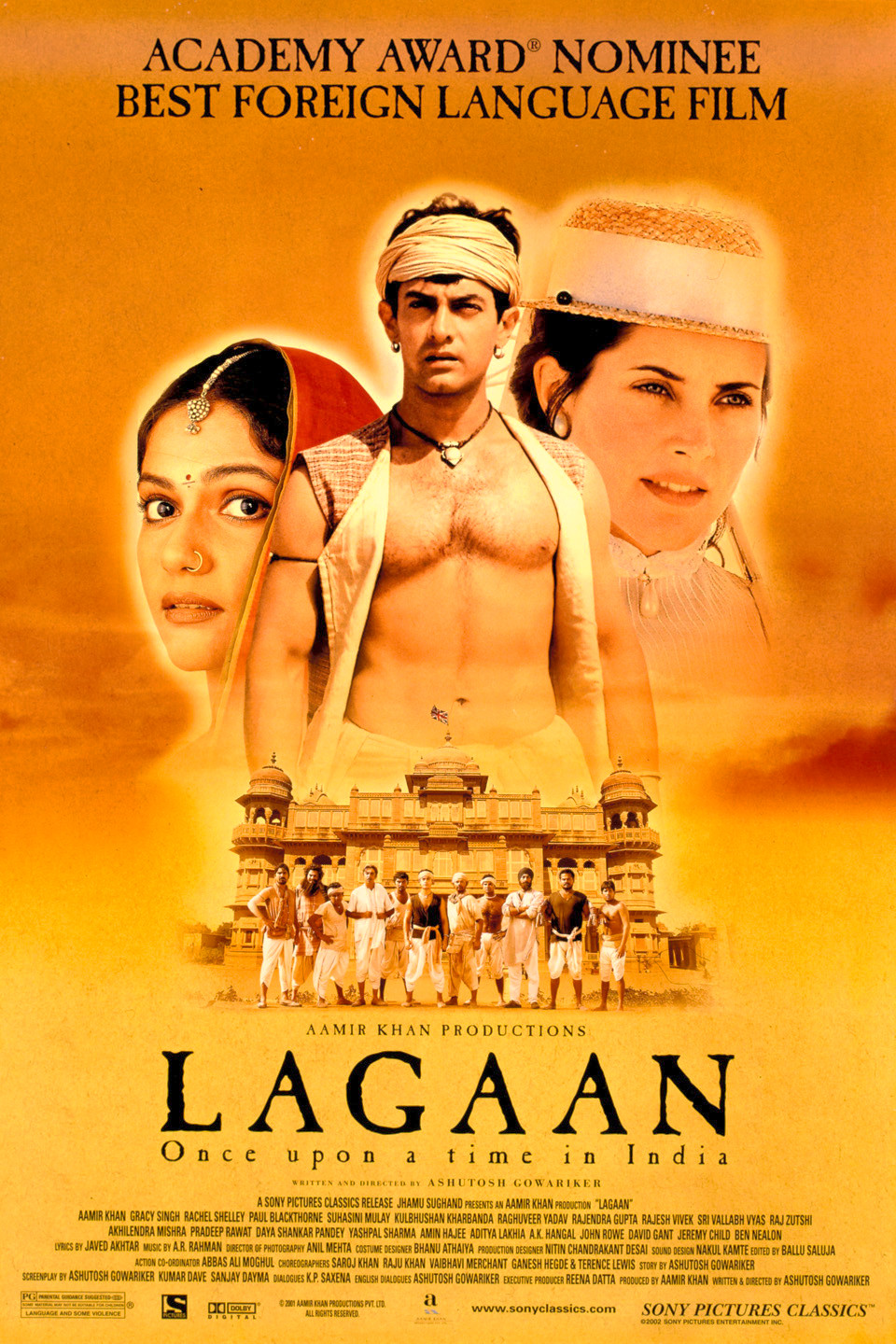 Bollywood Movie Based On Patriotism - Lagaan Movie Poster