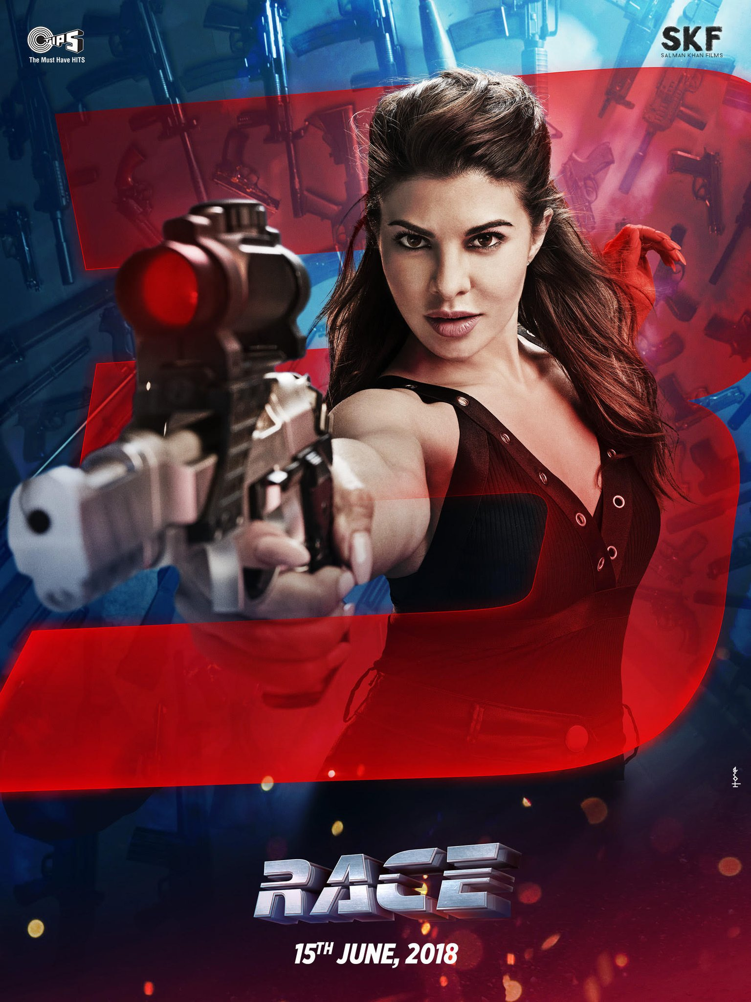Jacqueline Fernandez as Jessica - Raw Power - Race 3 first look Poster
