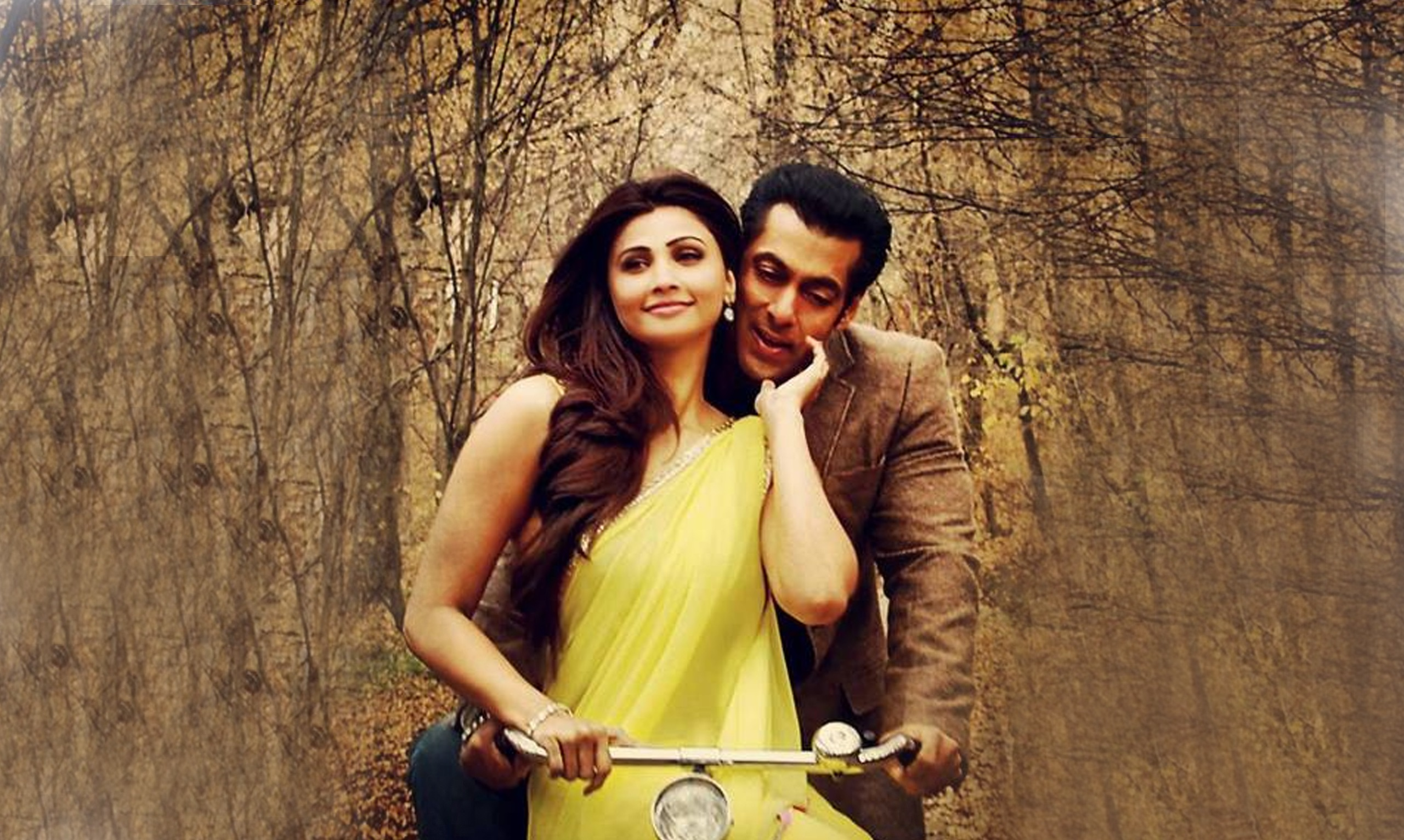 Salman Khan And Daisy Shah In Jai Ho
