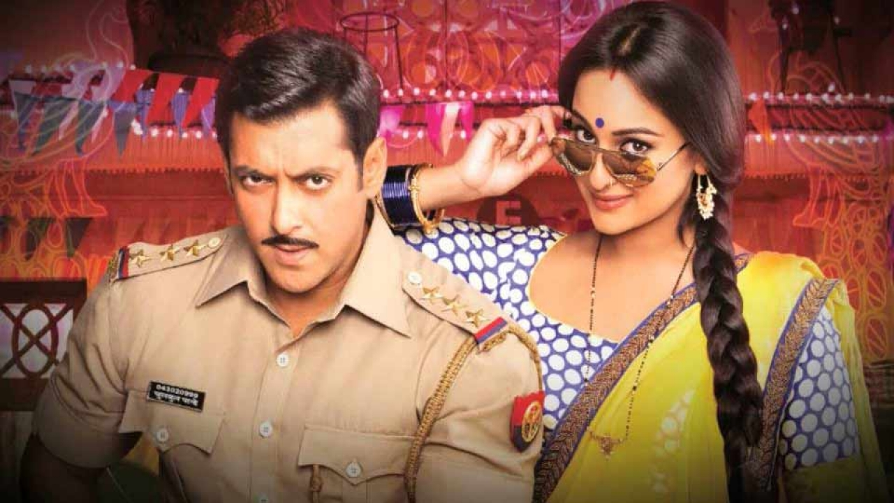 Salman Khan And Sonakshi Sinha In Dabangg