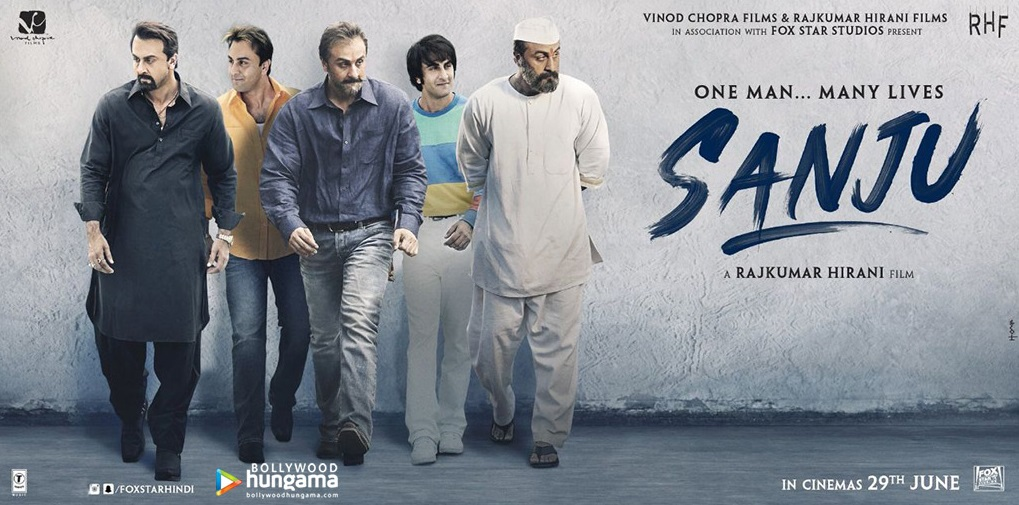 Sanju Movie Poster - Ranbir Kapoor