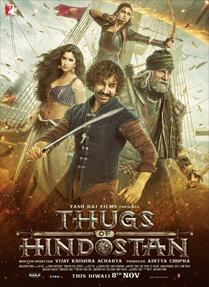 Thugs Of Hindostan Movie Dialogues Poster