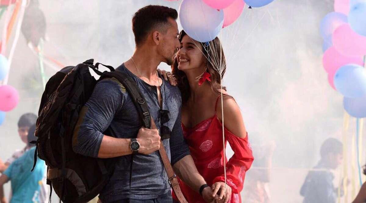 Baaghi 2 Movie Dialogues - Tiger Shroff And Disha Patani Romantic Poster