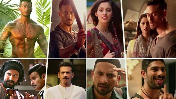 Baaghi 2 Quotes Status - Full HD Desktop Wallpaper - Tiger, Manoj, Randdep, Disha Patani