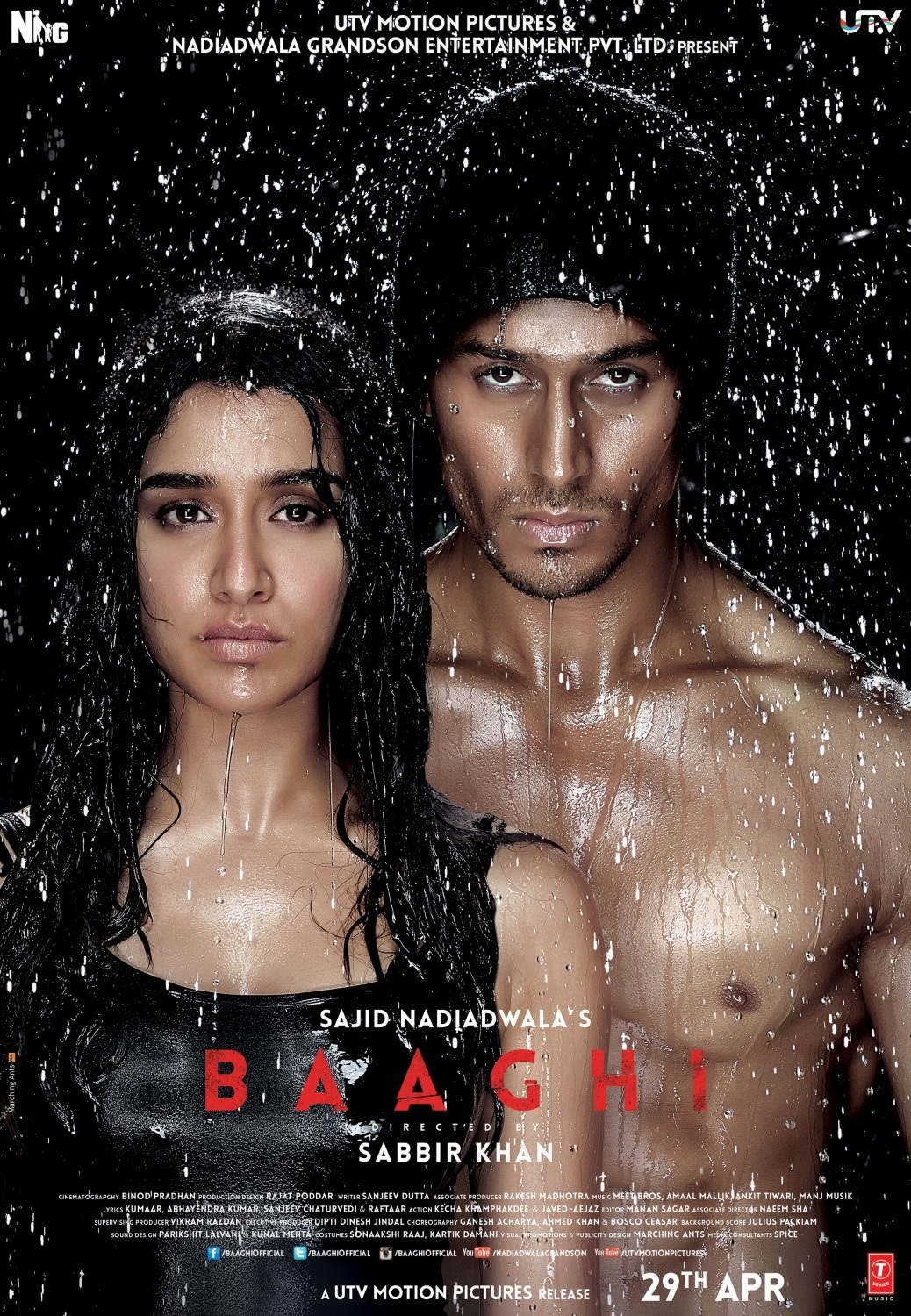 Baaghi Movie Dialogues - Tiger Shroff And Shraddha Kapoor - Desktop Wallpaper
