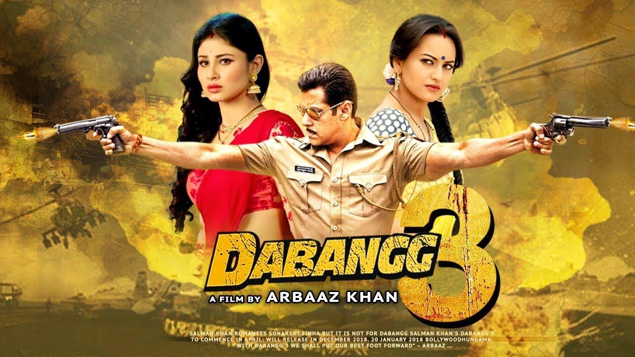 Dabangg 3 Movie Dialogues - Salman, Sonakshi And Saiee. Full HD Desktop Wallpaper