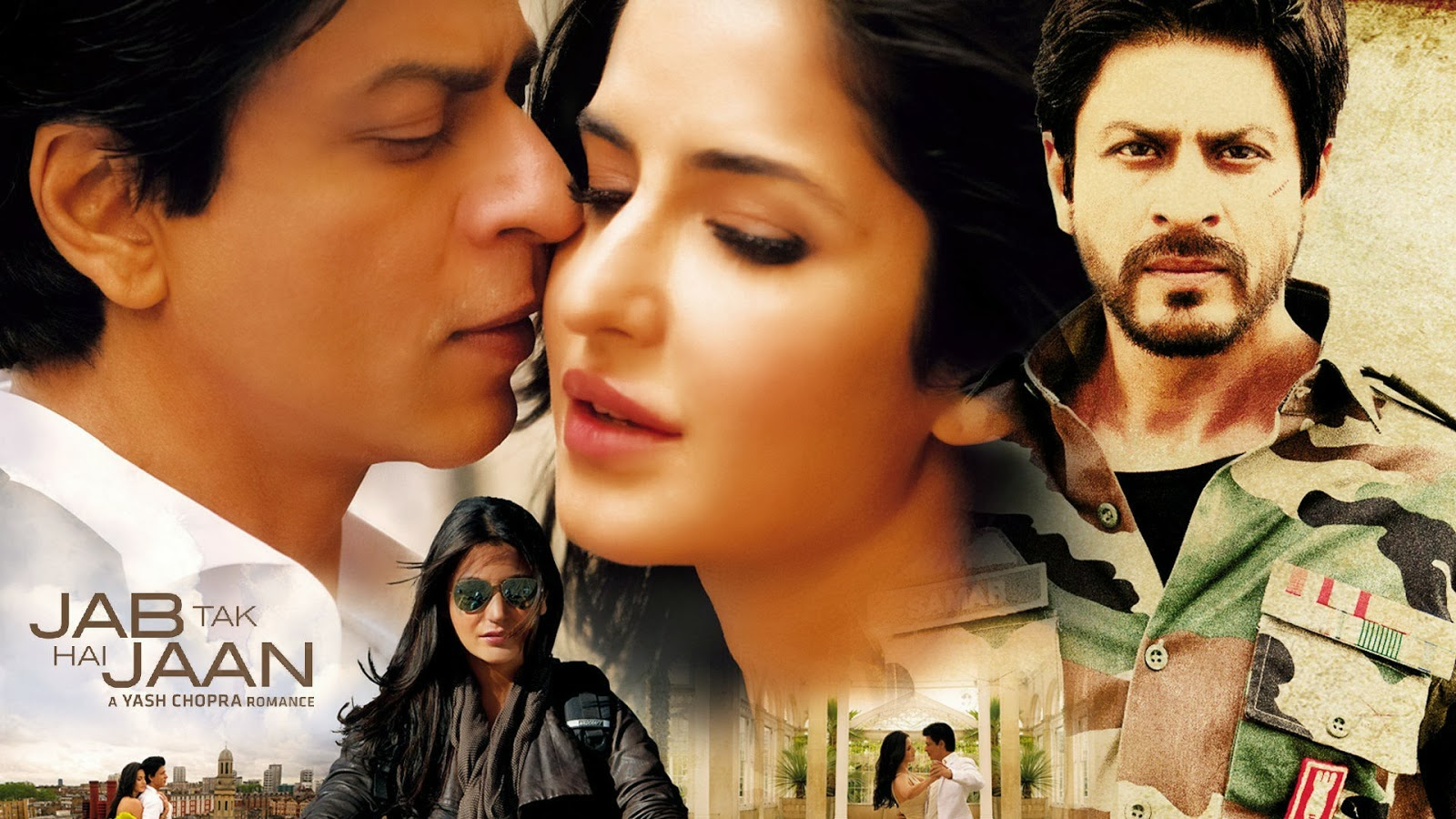 Jab Tak Hai Jaan Dialogue Status - Full HD Photo - Shahrukh Khan, Anushka, Katrina