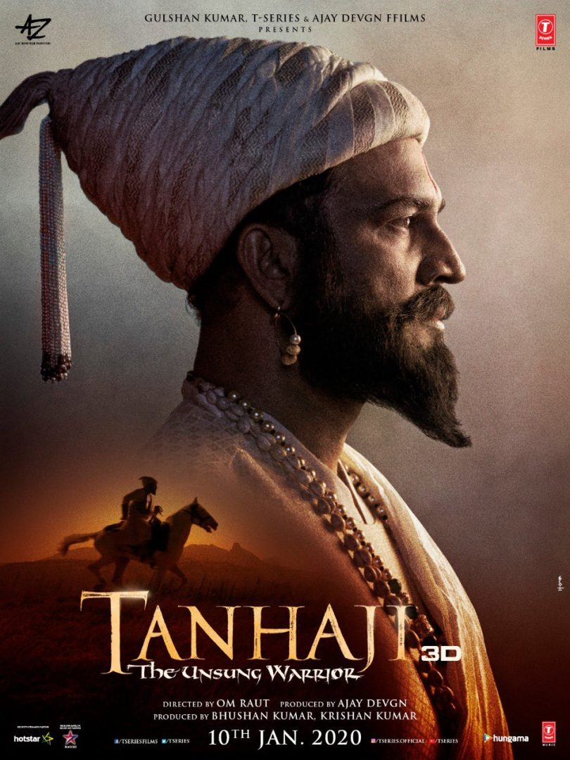 Tanhaji Movie HD Poster - Ajay Devgan, Saif Ali Khan