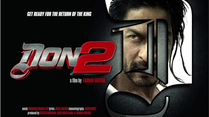 Don 2 Movie Dialogues Shahrukh Khan Full HD Poster
