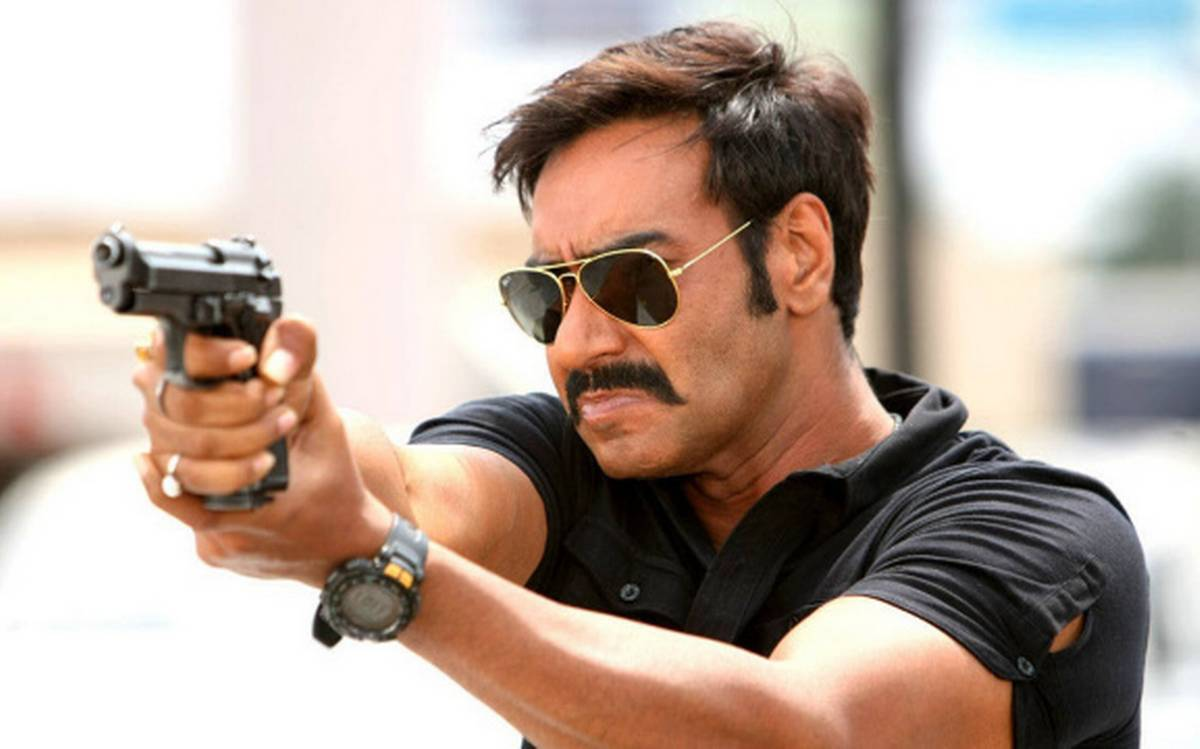 Singham Movie Dialogues - HD Poster - Ajay Devgan As Honest Cop