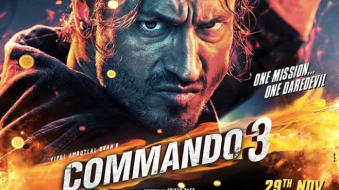 Commando 3 Movie Dialogues - Full HD Poster