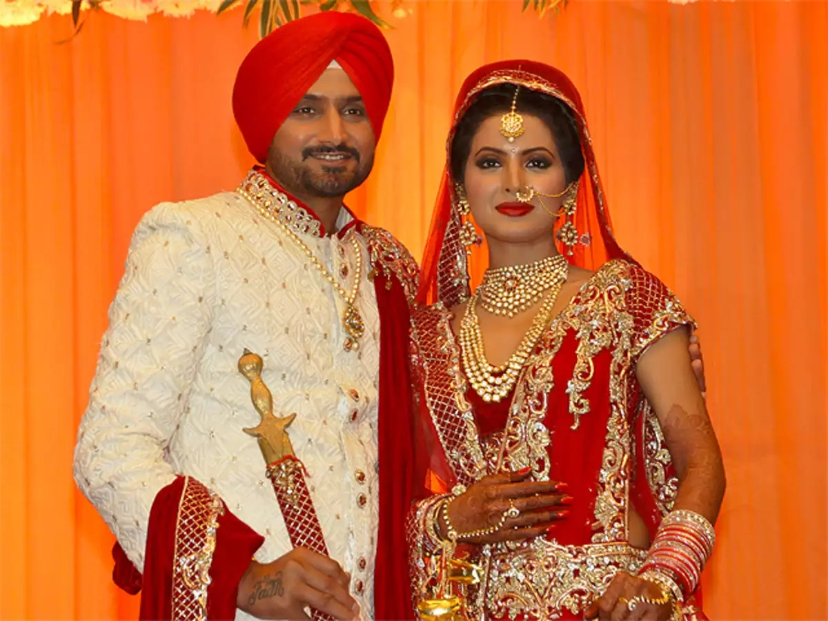 Geeta Basra And Harbhajan Singh - Bollywood Actresses Who Married To Indian Cricketers