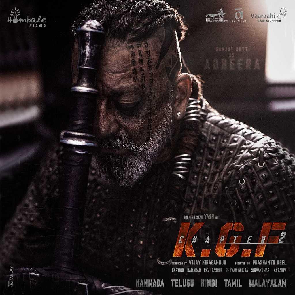 KGF Chapter 2 Movie Dialogues - Sanjay Dutt First Look