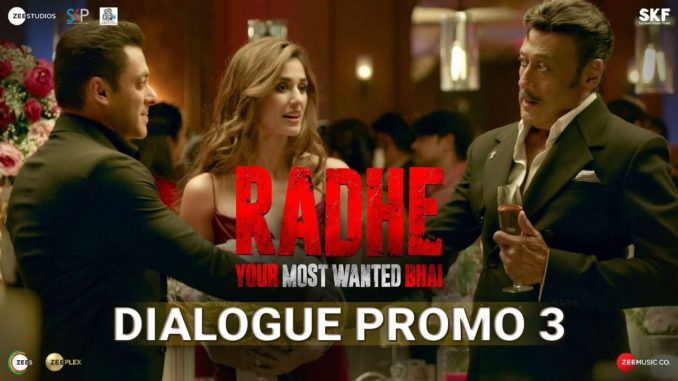 Radhe Dialogue Promo 3: Jackie Shroff